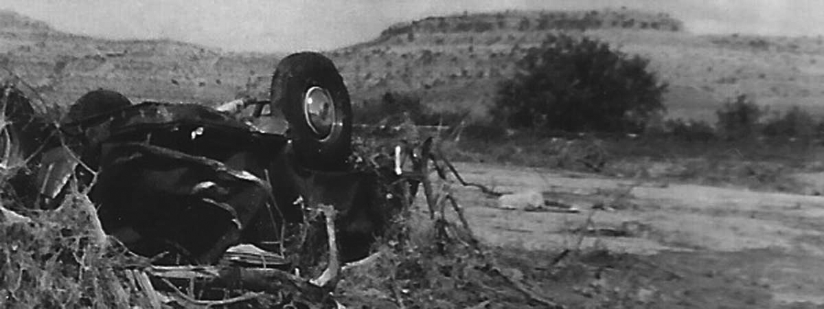 Damage from the 1954 Flood   Chandler Ranch